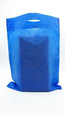 500 Stofftragetaschen in blau