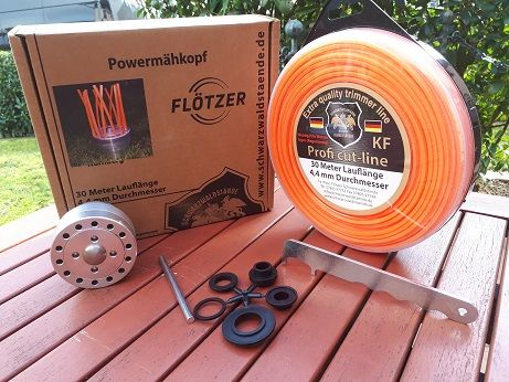 Flötzer Universal Powermähkopf Komplettpaket